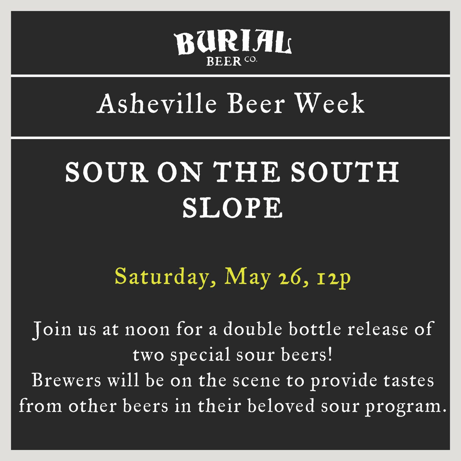 Sour on the South Slope @ Asheville Beer Week