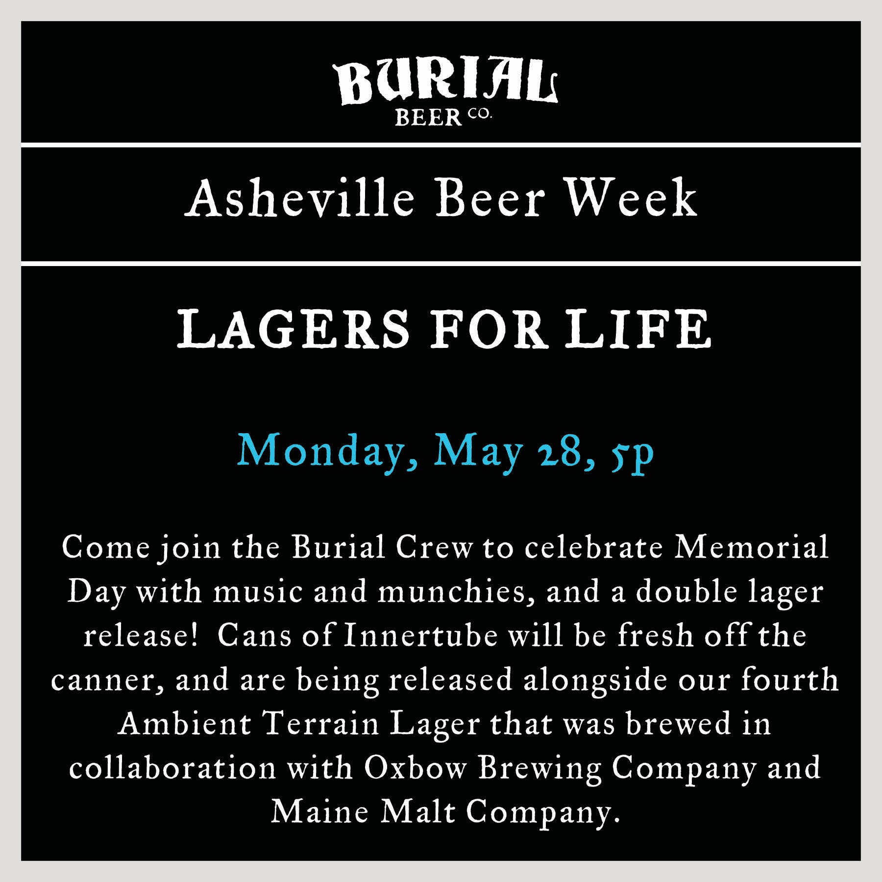 Lagers for Life @ Asheville Beer Week