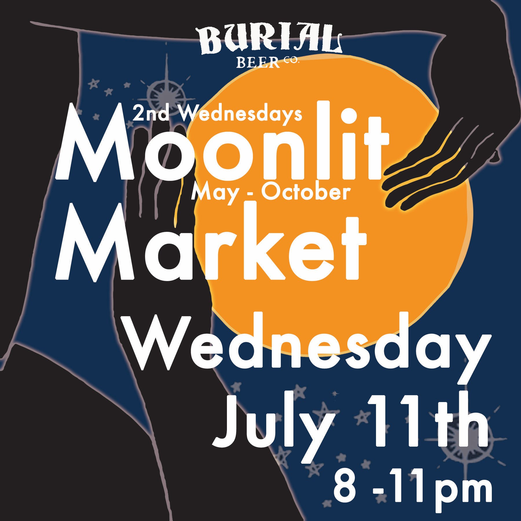 Moonlit Art Market