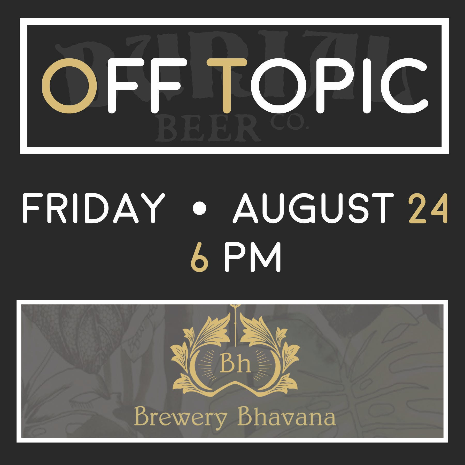Brewery Bhavana Tap Feature and Off Topic