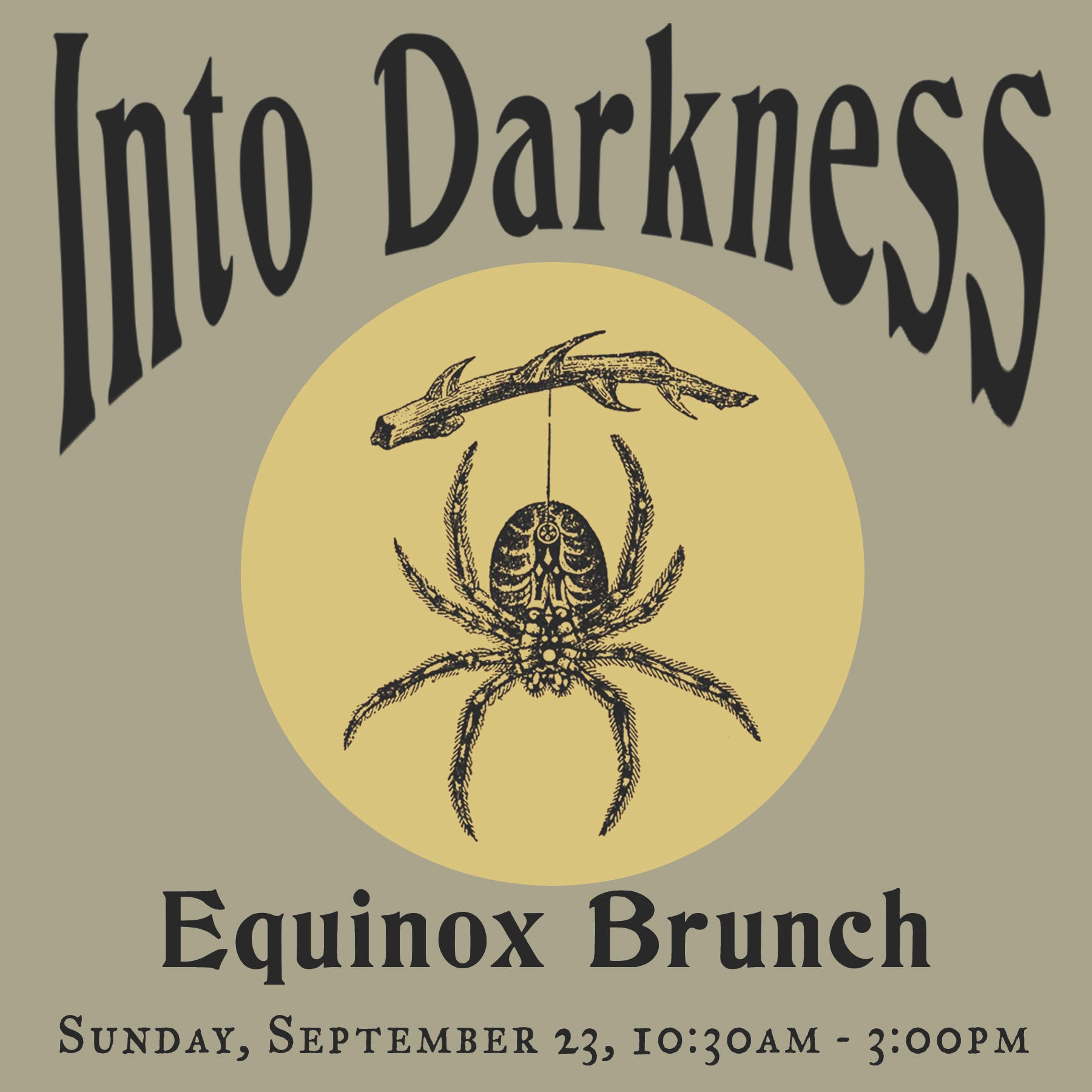 Into Darkness Equinox Brunch