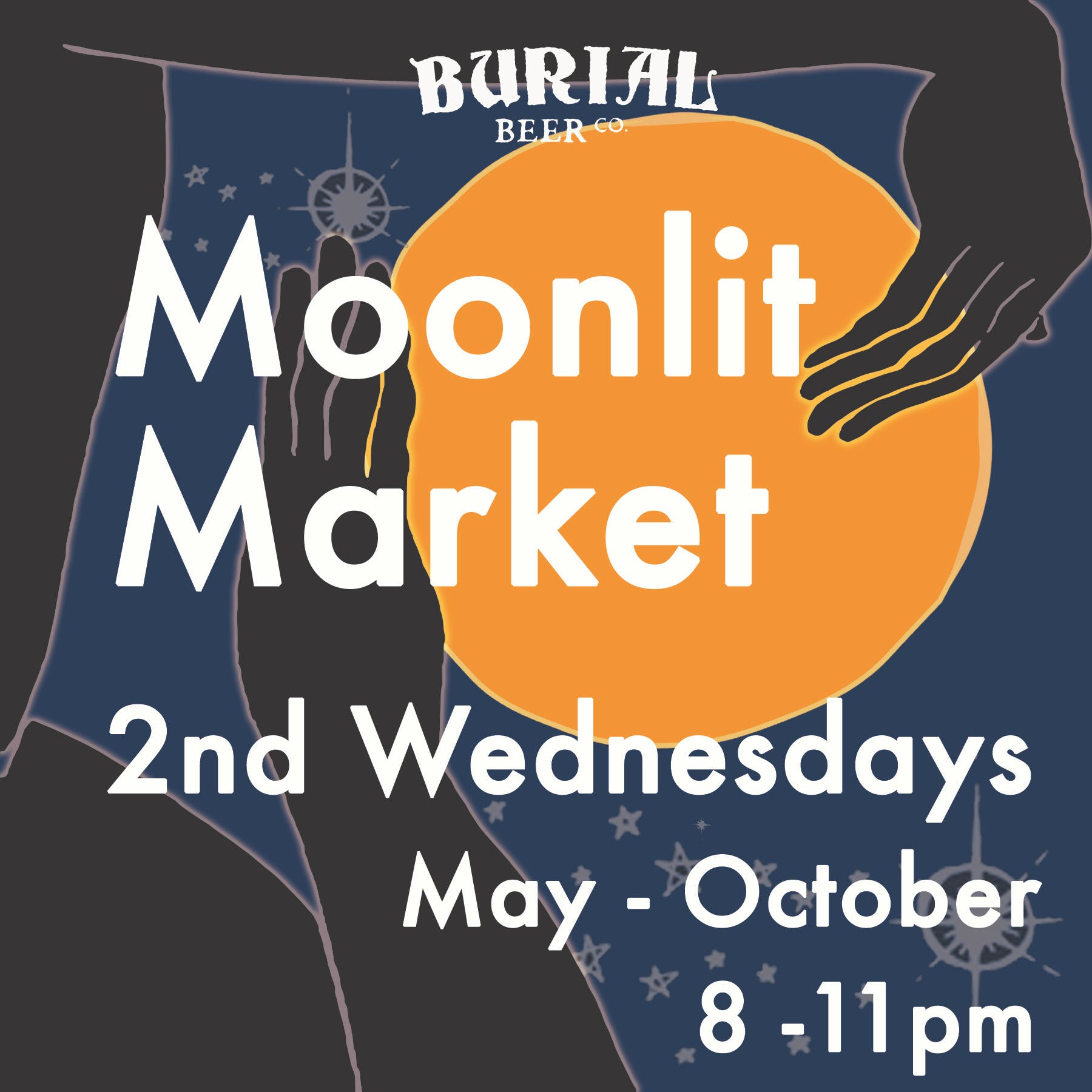Moonlit Art Market